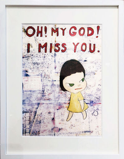 Yoshitomo Nara, 'Oh! My God ! I Miss You', 2001