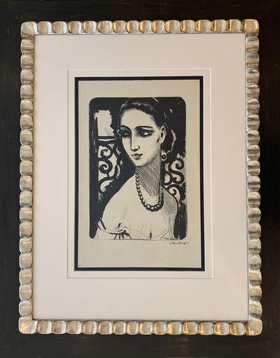 Kees van Dongen, ''Le Collier de Perles' (Girl with Necklace)', 1924