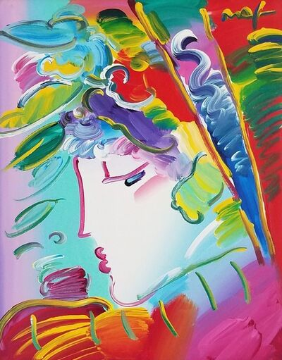 Peter Max, 'Blushing Beauty', 2010