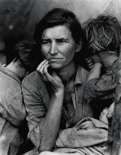 Dorothea Lange, 'Migrant Mother, Nipomo, CA', 1936