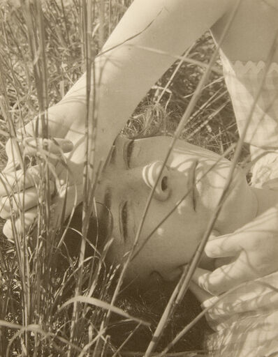 "Edward Steichen, 'Dana Steichen, ""The Blue Sky"" Long Island, New york', 1923"