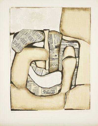 Conrad Marca-Relli, 'Composition', 1973