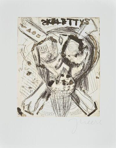 Jonathan Meese, 'Don Skeletti im Fettnapf mit 10 Zäpfchen', 2000-2010