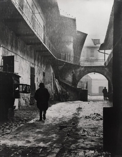 Roman Vishniac, 'The Entrance to Kasimierz, the Old Ghetto of Cracow ', 1937