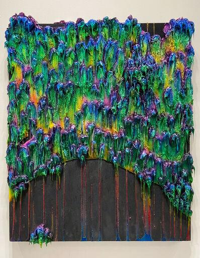 John Monn, 'Atheris Painting (Green)', 2020
