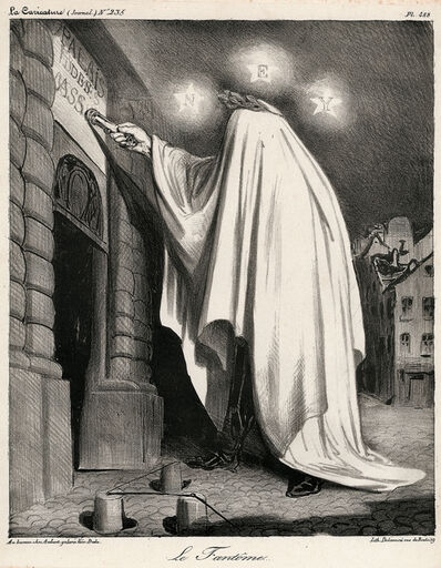 Honoré Daumier, 'Le Fantôme', 1835