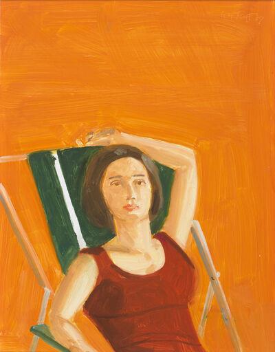 Alex Katz, 'Vivien with Orange', 2007