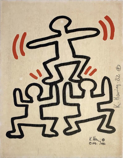 Keith Haring, 'Bayer Suite #4', 1982
