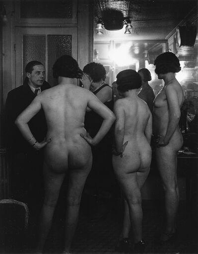 Brassaï, 'Chez Suzy, La Présentation'