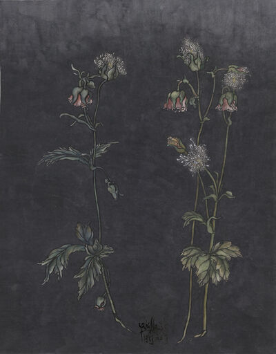 Yang Jiechang 杨诘苍, 'These are still Flowers 1913-2013 No. 2 还是花鸟画1913-2013 2号', 2013