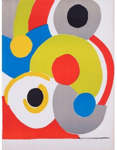 Sonia Delaunay, 'Ballons multicolores (Multicoloured Balloons)', 1970