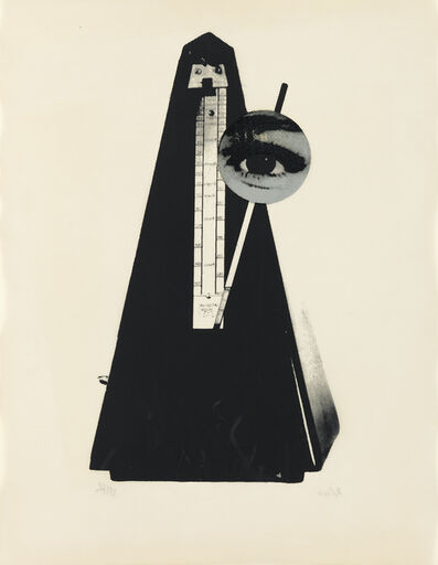 Man Ray, 'Metronome.', 1970