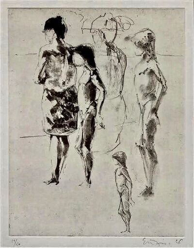 Eric Fischl, 'Untitled', 1984