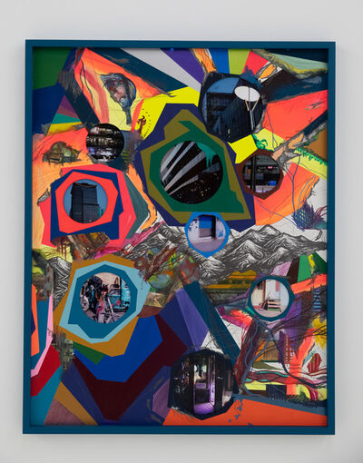 Franz Ackermann, 'Behind the Hills Ⅰ 越过山丘 1, ', 2019