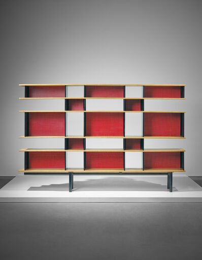 Charlotte Perriand, 'Important 'Antony' bookcase, designed for the Cité Universitaire, Antony', 1954-1955