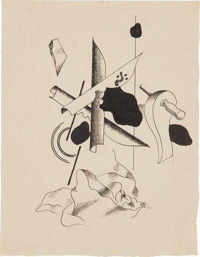 Fernand Léger, 'Composition aux plumes', 1930
