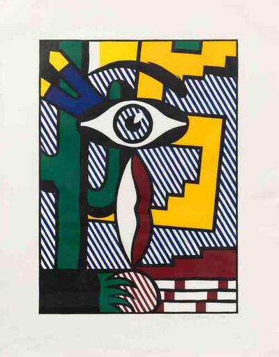 Roy Lichtenstein, 'American Indian Theme III (from American Indian Theme Series)', 1980