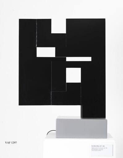 Bruno Munari, 'Negativo-positivo a 3 dimensioni', 1956