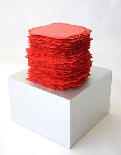Betty Merken, 'Slab Series, Red', 2016