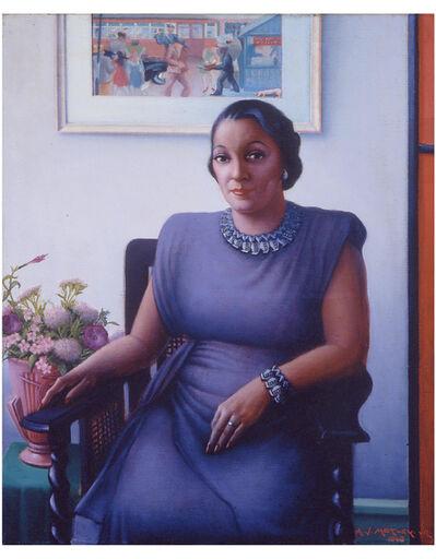 Archibald J. Motley Jr., 'Portrait of a Cultured Lady', 1948