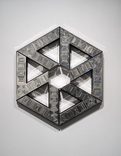 Monir Farmanfarmaian, 'First Family – Hexagon', 2010