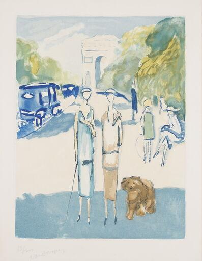 Kees van Dongen, 'Avenue du Bois de Boulogne', 1928
