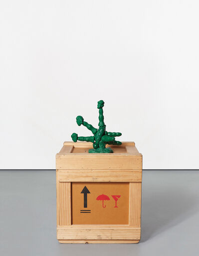 Paul McCarthy, 'Santa Octopussy, Green, Balls, 6 Tentacles, 3 Heads', 2004