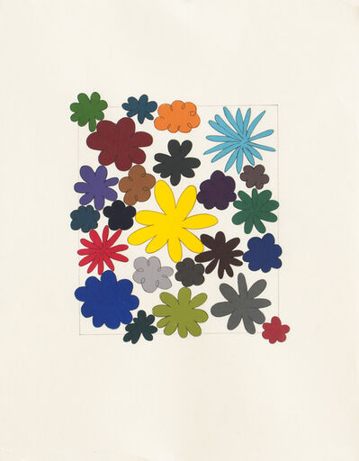 Polly Apfelbaum, 'Just Flowers', 2004
