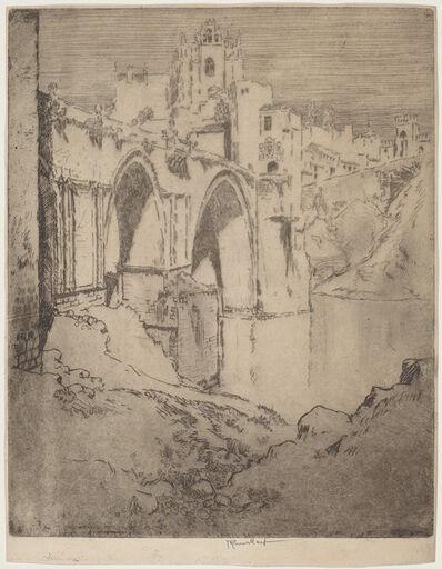 Joseph Pennell, 'Bridge of San Juan D'Los Reyos, Toledo', 1904