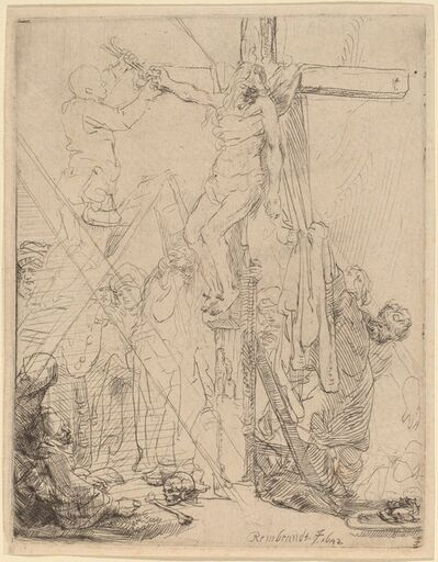 Rembrandt van Rijn, 'The Descent from the Cross: a Sketch', 1642