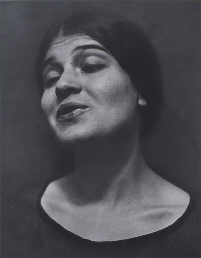 Edward Weston, 'Tina Reciting', 1924