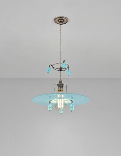 Sir Edwin Lutyens, 'Rare six beaded 'Halo' ceiling light, designed for Gledstone Hall, Skipton, North Yorkshire', 1922-1926