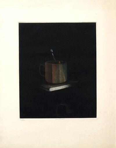 Tomoe Yokoi, 'Book and cup', 1973