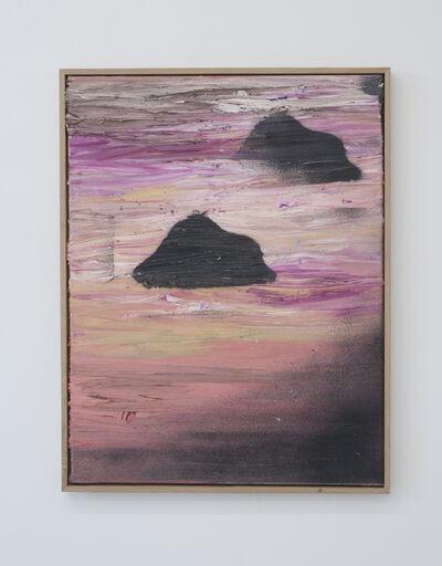 Benoît Maire, 'Peinture de nuages', 2017