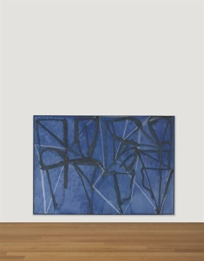 Brice Marden, 'Blue Horizontal'