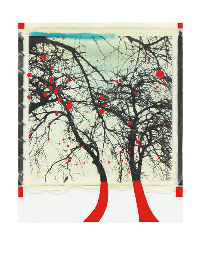 Niesforny, 'Trees with red apples', 2019