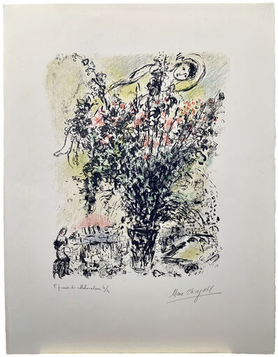 Marc Chagall, 'Le Bouquet de Paris', 1971