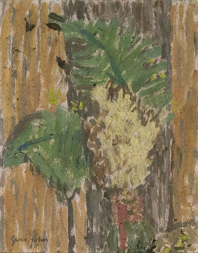 Gwen John, 'Flowers and Foliage in a Vase ', Probably executed during the 1920s