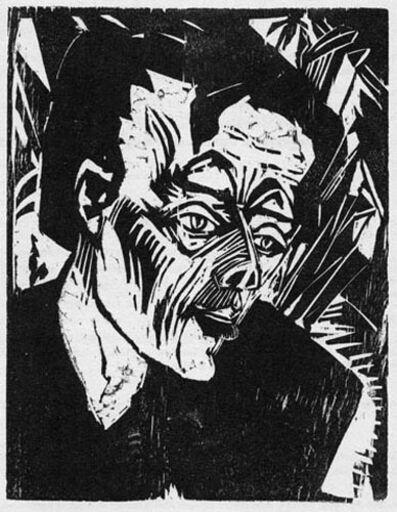 Erich Heckel, 'Roquairol, Bildniss E.L. Kirchner (Roquairol, Portrait of E.L. Kirchner).', 1917