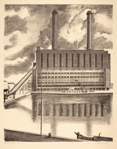 Carl Grossberg, 'Ansicht von Westen (BEWAG, Berlin)', 1931