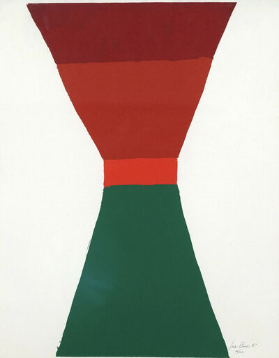 Jack Bush, 'Red Orange Green', 1965