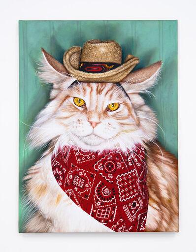 Daniel Handal, 'Cowboy Kitty (Cameo Tabby)', 2015