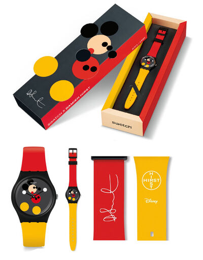"""Damien Hirst, 'SWATCH, """"Spot Mickey"""", 2018, Edition of 1999,, Size: 34mm, SOLD OUT.', 2018"""