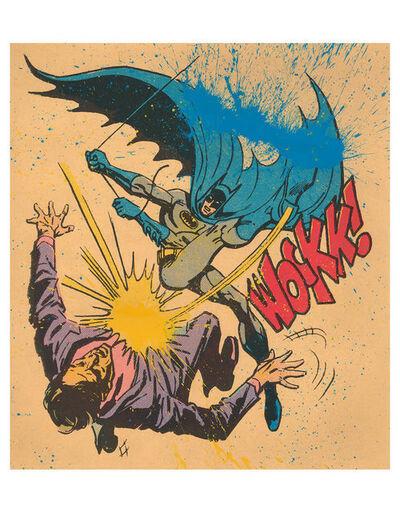 Mr. Brainwash, 'Bat-Wockk! (Splatter Edition)', 2019