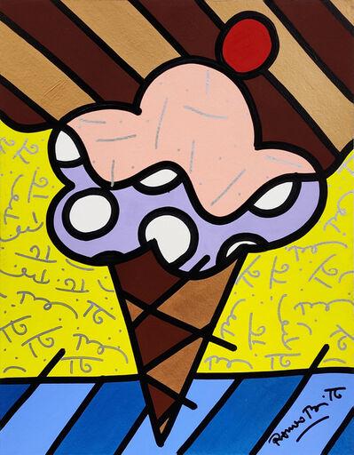 Romero Britto, 'CHOCOLLATE', 1999