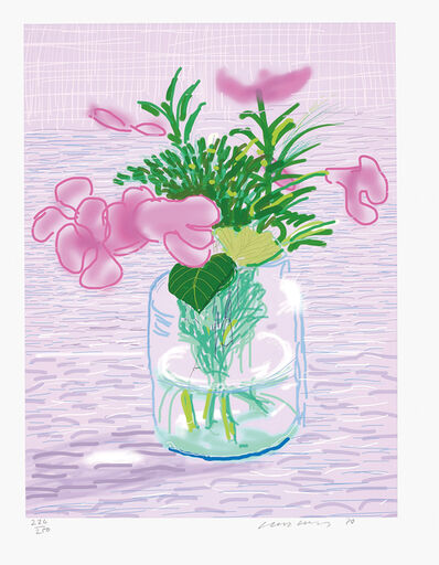 David Hockney, 'Untitled no. 329, from A Bigger Book: Art Edition A', 2010/2016