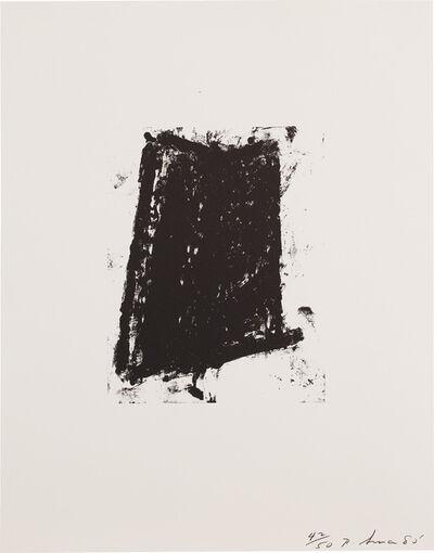 Richard Serra, 'Sketch 5, from Sketches (G. 965, B.-W. 16)', 1981