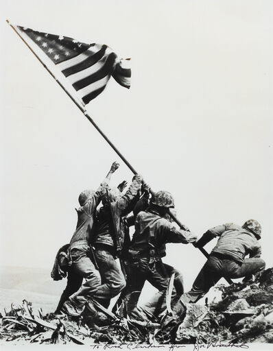 Joe Rosenthal, 'Raising the Flag on Iwo Jima'