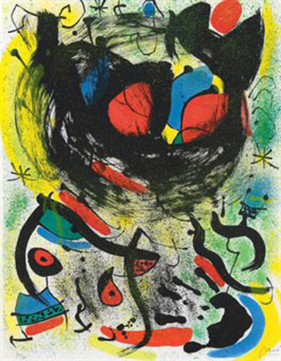 Joan Miró, 'Les Voyants 661', 1970