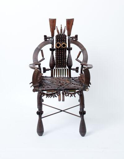 Gonçalo Mabunda, 'Untitled (throne)', 2018